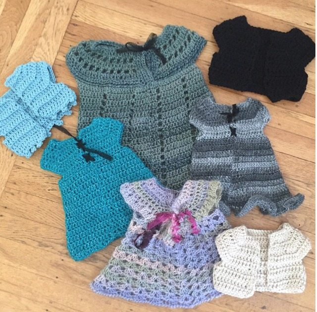 crochet clothing for babies