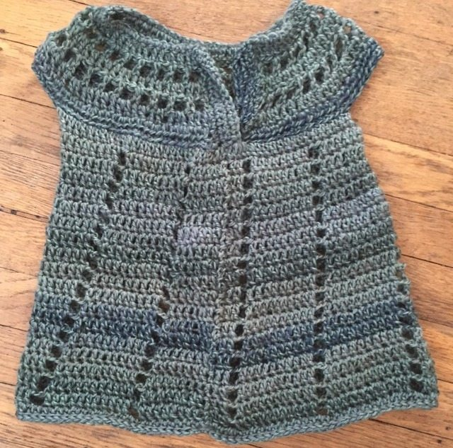 Crochet Baby Dresses and Cardi Shrugs