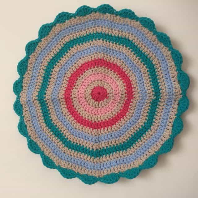 crochet mandala for wink 1