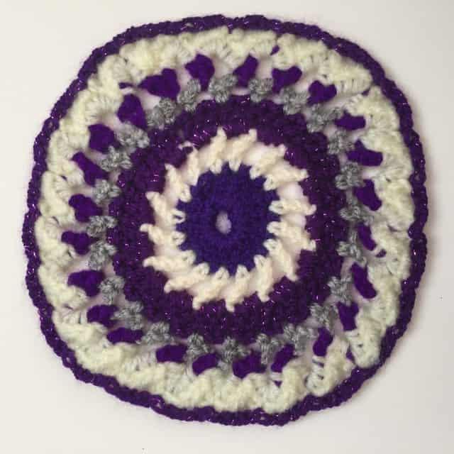crochet mandala for wink 8