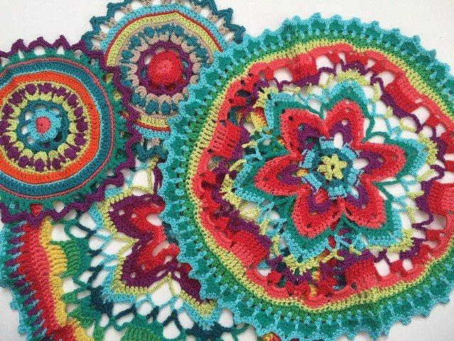 toni crochet mandalas for marinke