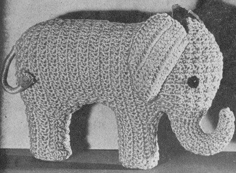 vintage crochet toy pattern