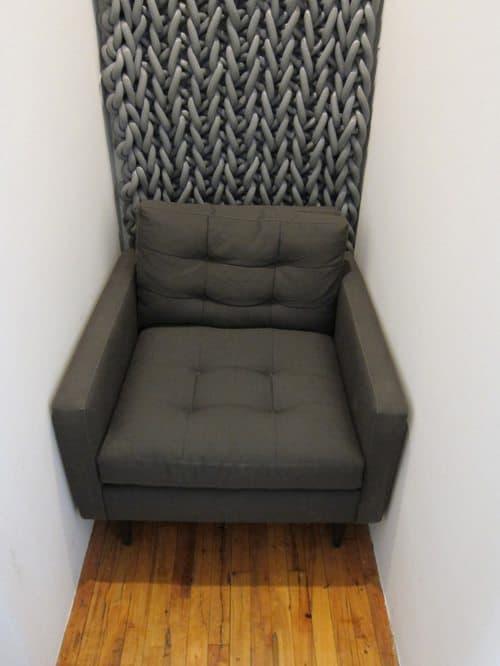 acoustic crochet chair