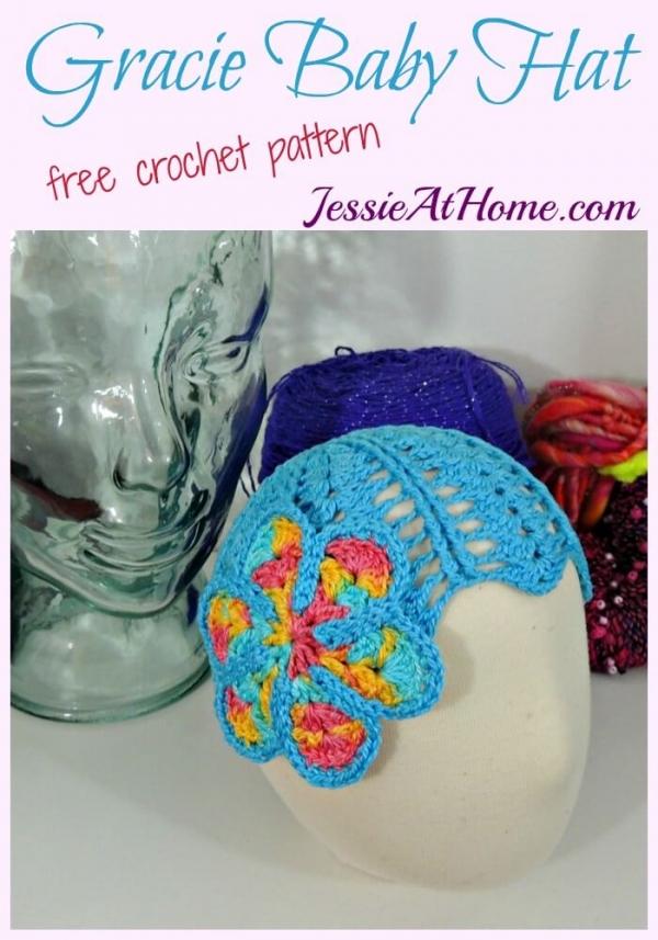baby hat free crochet pattern