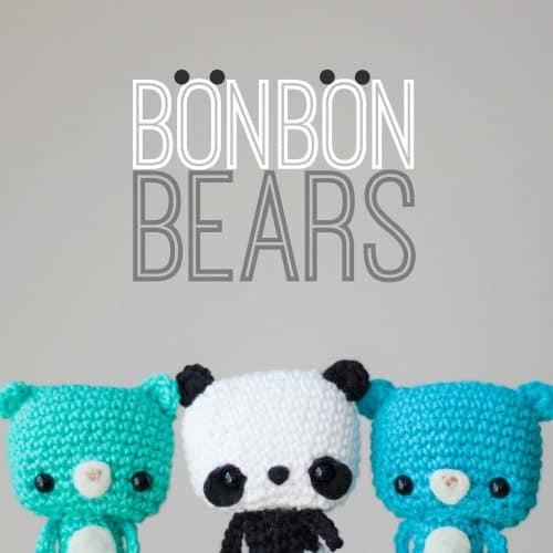 bonbon bears free crochet pattern