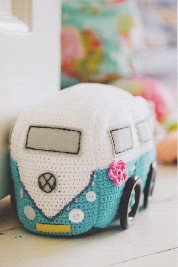camper van crochet pattern