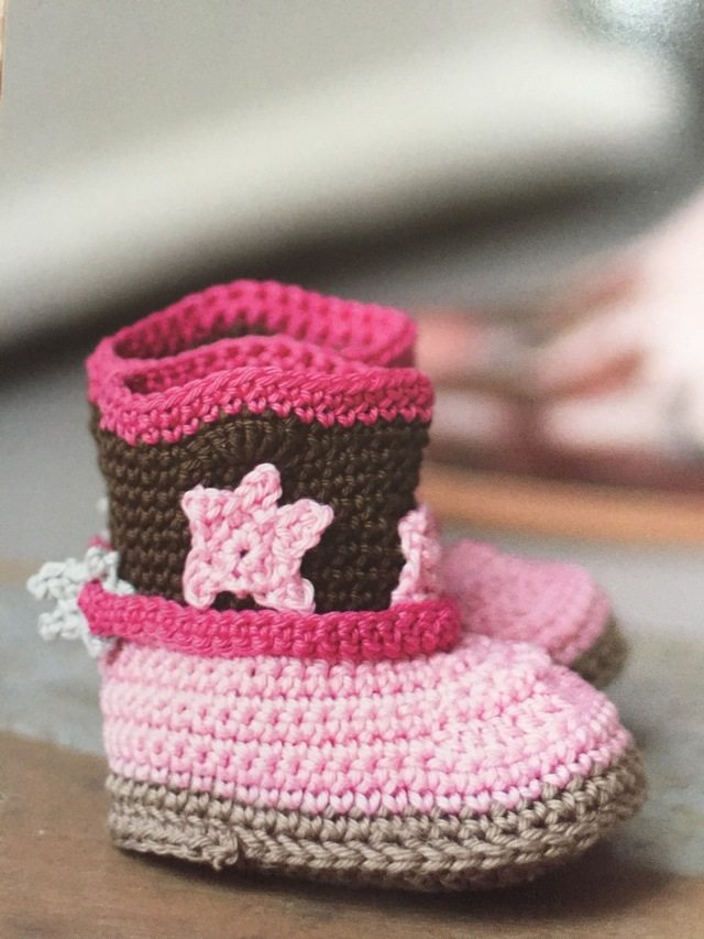 Crochet Pattern Baby Cowboy Boots Traitoro For