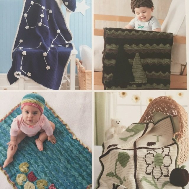 crochet baby hats and blankets