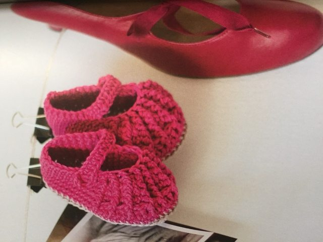crochet baby shoes mary janes