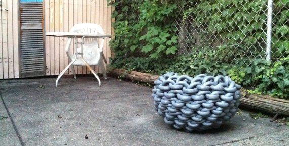 crochet basket art