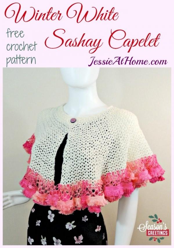 crochet capelet free pattern