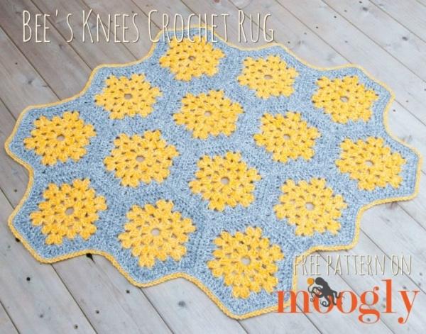 crochet rug free pattern