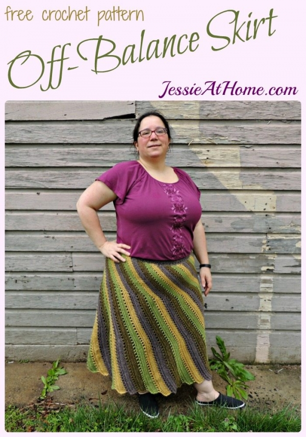 Free Crochet Pattern For Cowgirl Skirt : 20+ Fabulous Jessie At Home Crochet Patterns