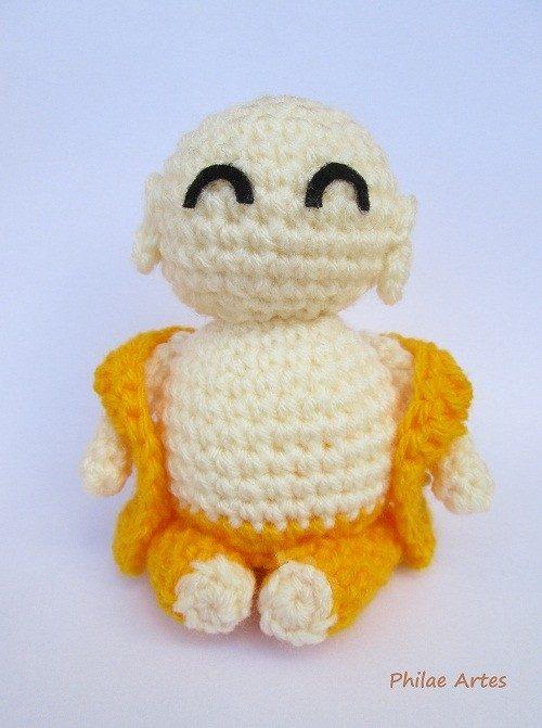 free crochet buddha pattern