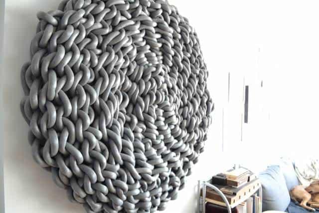lilypad crochet art