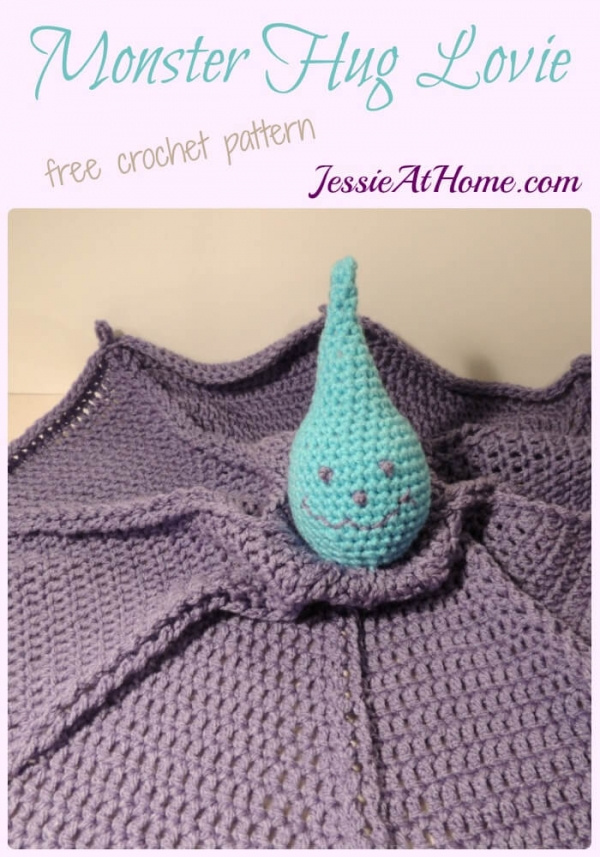 monster hug lovey crochet pattern