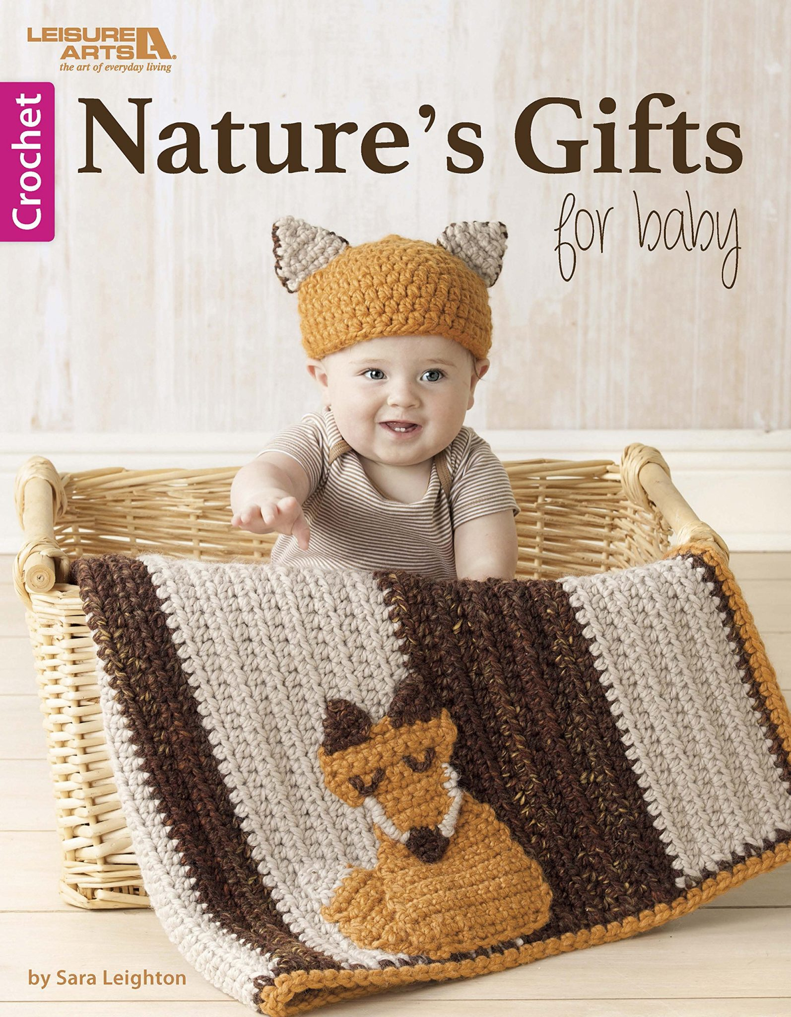Nature's Gifts for Baby (crochet book review)