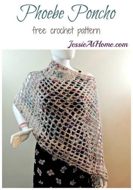 poncho free crochet pattern