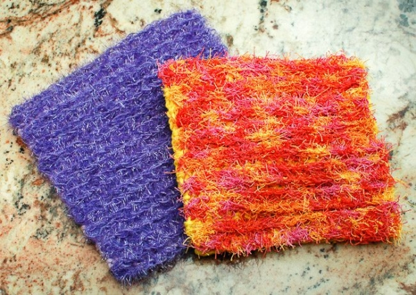 scrubby dishcloth crochet pattern