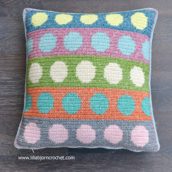 tapestry crochet pillow free pattern