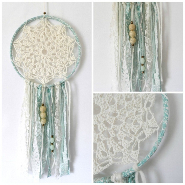 crochet dream catcher tutorial
