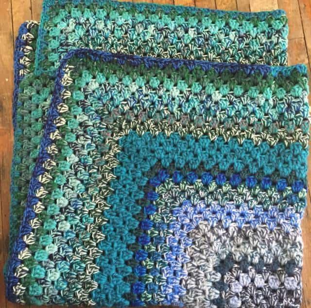 vercillo granny square crochet blanket