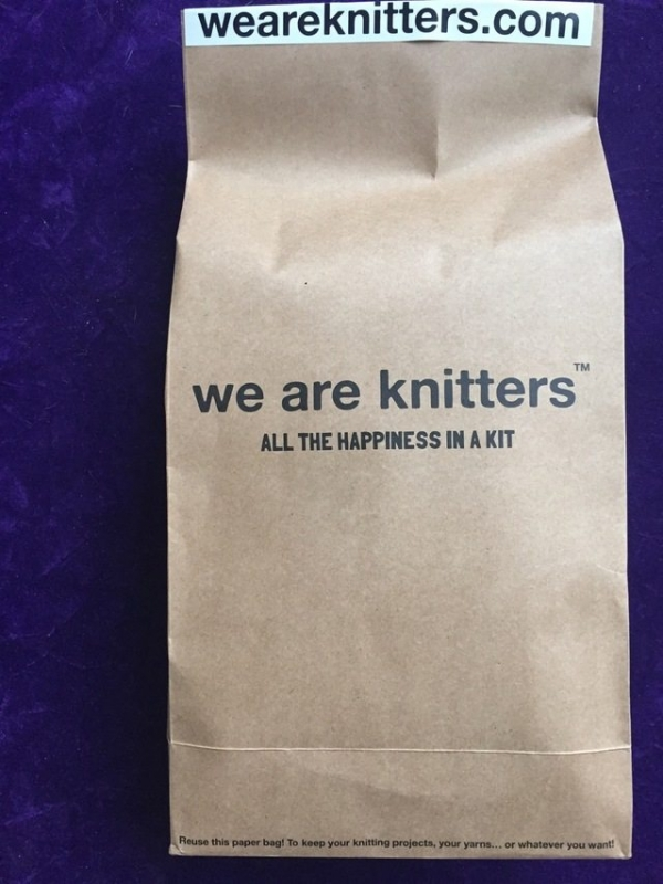 we are knitters bag