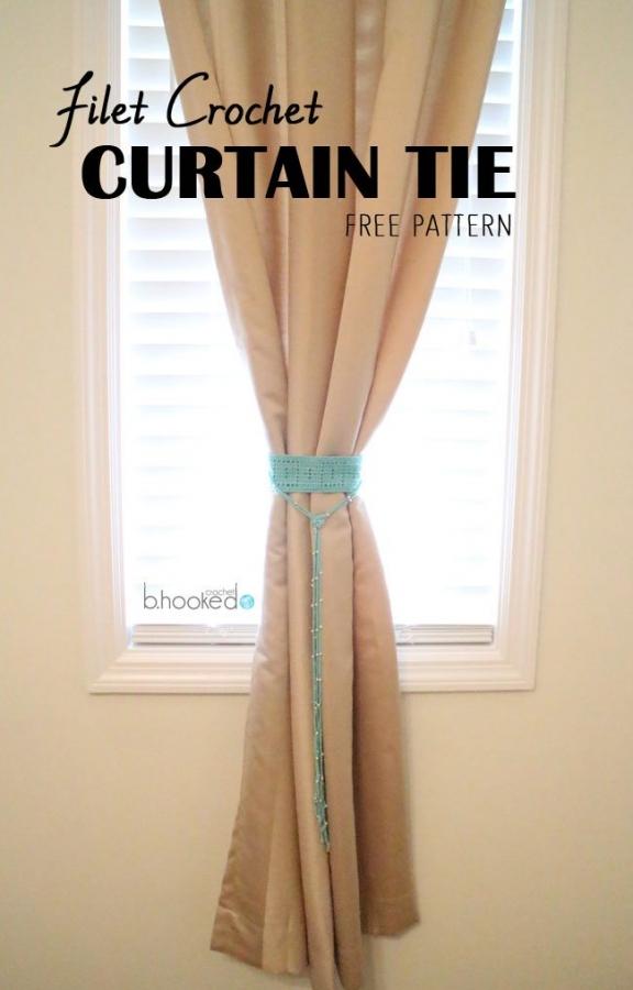 filet-crochet-curtain-tie-back