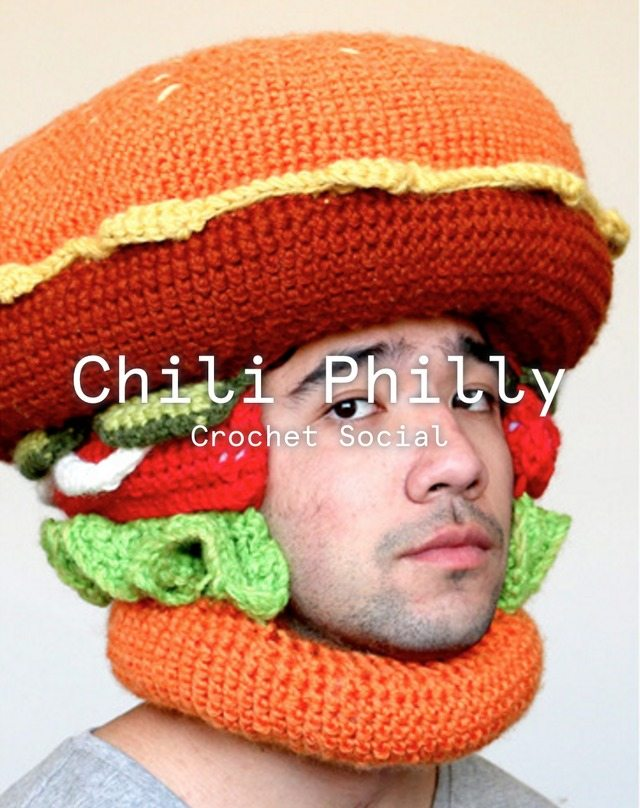 2a9b74b33e Chili Philly Gets First Solo Exhibition for Crochet Art Hats ...