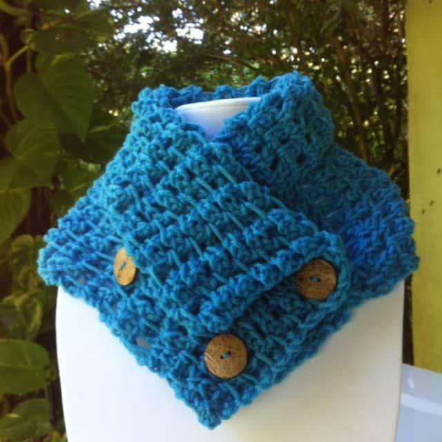 crochet cowl by inna