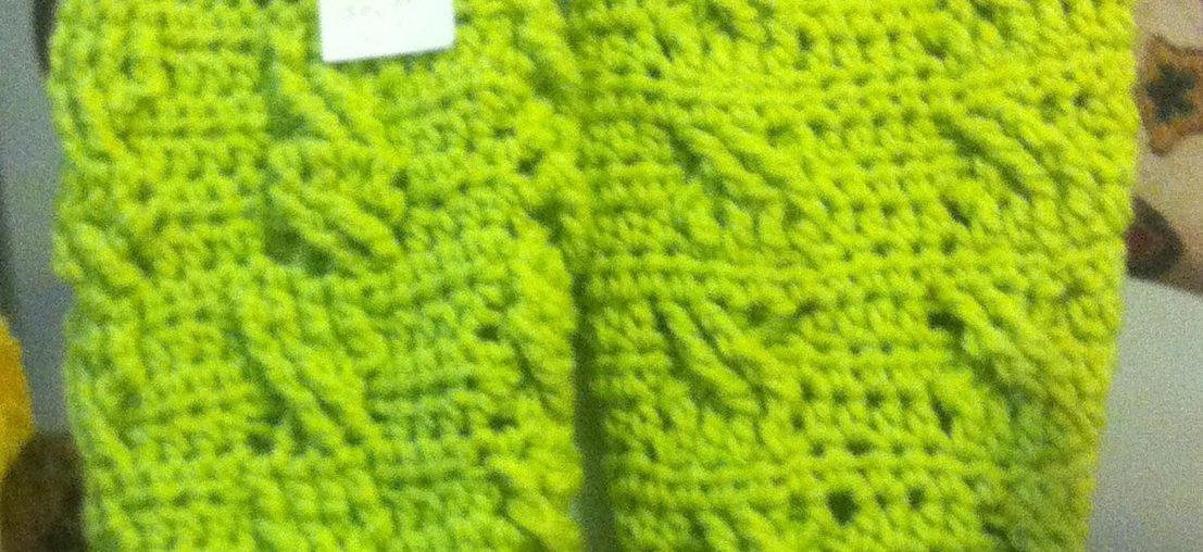 crochet cable scarf by inma