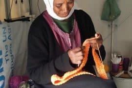 syrian refugee crochet
