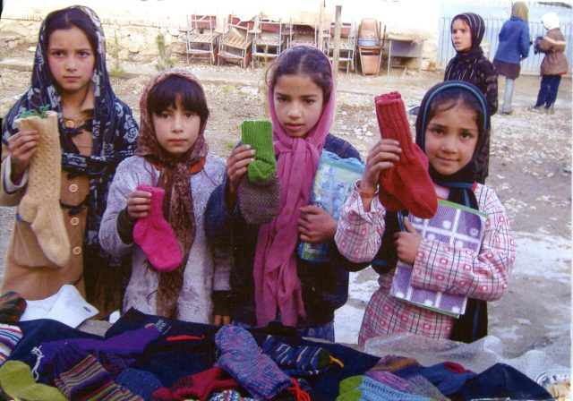 donate crochet to afghans for afghans
