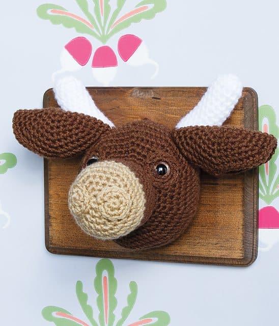 taxidermy crochet cow pattern