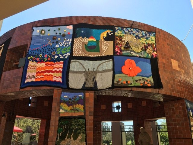 california yarnscape art at autry museum 8