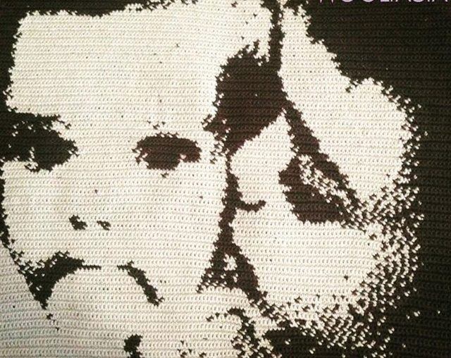 crochet portrait made with app