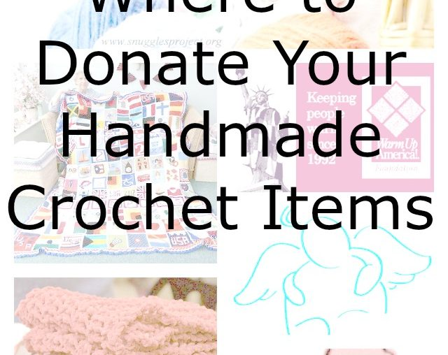 donate crochet to charity