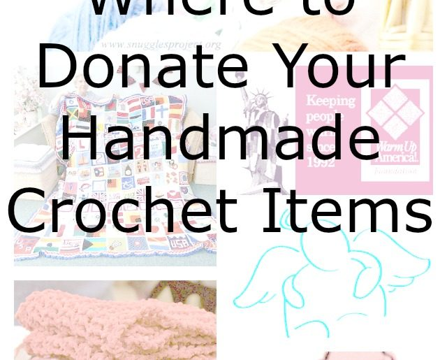 donate crochet to charity