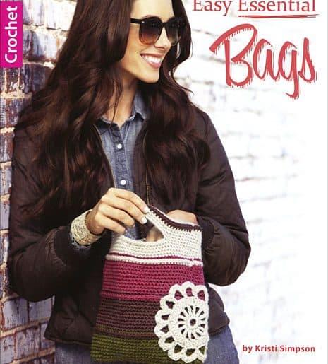 easy essential bags crochet book