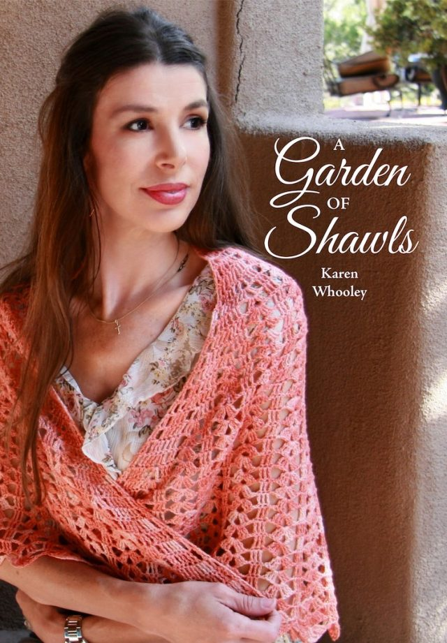 garden of shawls crochet book