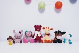 amigurumi crochet animals by iradumi