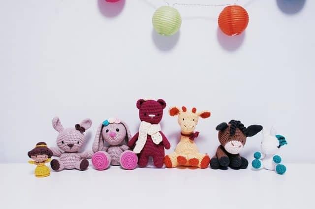 amigurumi crochet animals by iradumi