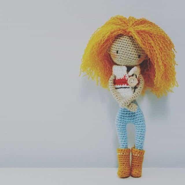 iradumi crochet amigurumi doll