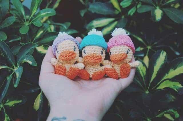 iradumi crochet amigurumi ducks