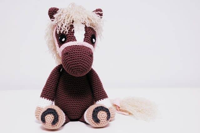 amigurumi horse by iradumi