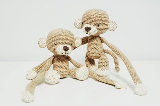 iradumi amigurumi crochet monkey pattern