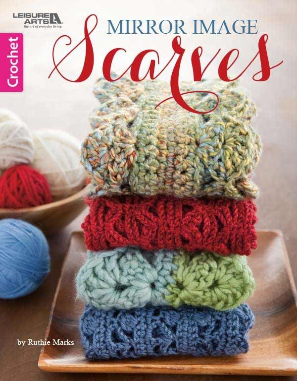 Mirror Image Scarves Crochet Book