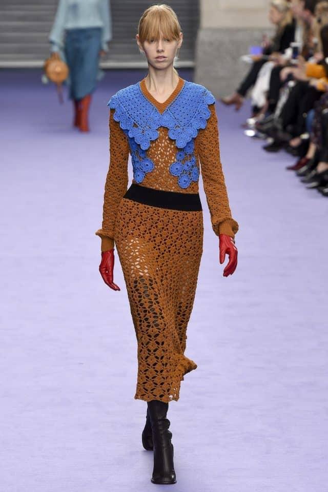 mulberry crochet dress fall 2017