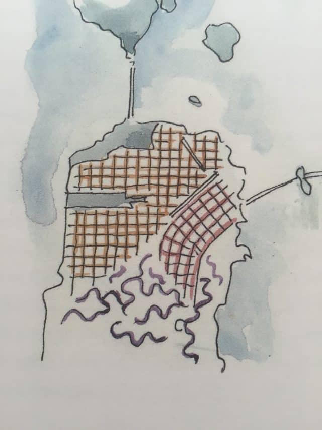 san francisco map inspiration