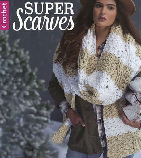super scarves crochet book